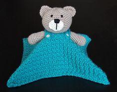 Ravelry: Teddy Bear Lovey Security Blanket pattern by Carolina Guzman