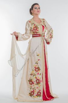 Flowered dress from Morocco