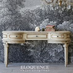 Eloquence 1920 Chippy Pale Peach Vintage Vanity