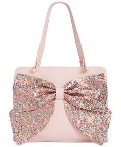 Designer Clothes, Shoes & Bags for Women Satchel Handbags, Purses And Handbags, Betsey Johnson Handbags, Bow Purse, Beautiful Handbags, Cute Purses, Cute Bags, Backpack Purse, Handbag Accessories