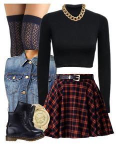 12|16|12 by miizz-starburst on Polyvore featuring Forever 21, Nick & Mo, Dr. Martens and Michael Kors