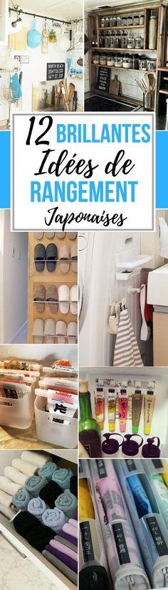 Au Japon, chaque espace compte, aussi bien à l'extérieur qu'à l'intérieur. C'est pourquoi leurs astuces de rangement sont très intéressantes... Home Staging, Diy Organisation, Room Organization, Organizing, Aussi, Playmobil, Ranger, Organiser, Diy Storage