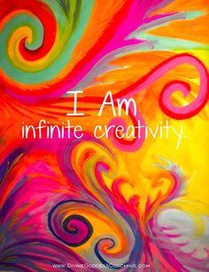 I Am Infinite Creativity