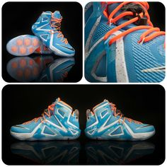 e0194500654 The King just added a new shoe to his collection  The Nike LeBron 12 Elites.