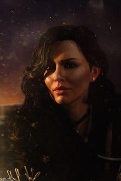 The Witcher - Yennefer Cosplay by MilliganVick.deviantart.com on @DeviantArt