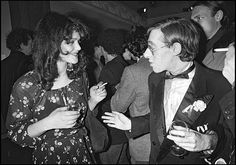 Tina Aumont and Alain Pacadis attend a party at the Palace in Paris in 1980 Alain Pacadis, Le Palace, 60s Icons, Vintage Vibes, American Actress, Images, Photos, Daughter, Hollywood