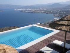 Agios Nikolaos - Atemberaubende 5-Sclafzimmer-Villa mit Pool und herrlicher Aussicht