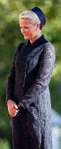 royalhats:  Estonian State Visit to Norway, September 2, 2014-Crown Princess Mette-Marit