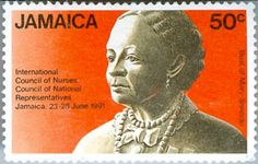 Mary Seacole on Jamaican stamp - Royal College of Nursing