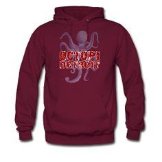 Octopi Detroit Hoodie