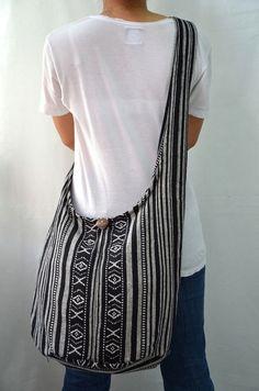 Nepali Hippie Hobo Boho Sling Messenger Bag Cross body PNP5115. $12.98, via Etsy.