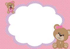 Casinha de Criança: Kit Festa Ursinha Rosa Para Imprimir Grátis