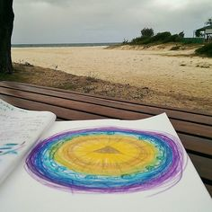 The best way to nourish mind body & soul: beach ocean and a quiet spot for some meditation and creative expression. Are you making some space this Christmas to slow down practice self-care and listen to your heart? What does it say? How do you want to feel? What do you want to bring to your life in 2017?  Join me at the  Paint Your Magic Mandala a transformative experience where we get our hands messy and paint our hearts out. Let's create a container for our intentions for 2017 and a space…
