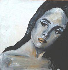 Marina Alexandrovna. canvas, paint