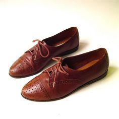 80's Oxfords - I had a white pair, just like Ducky in Pretty in Pink!