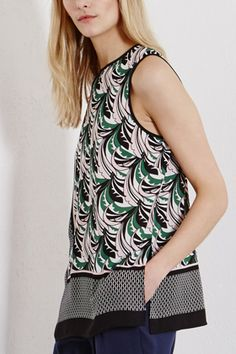 Clothing | Other LEAF PRINT TOP | Warehouse