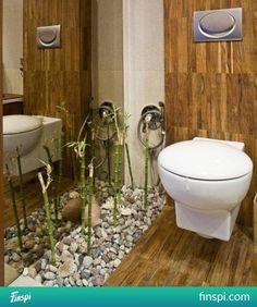 toaleta #wnętrze Malaga, Toilet, Spa, Bathroom, Bamboo, Washroom, Flush Toilet, Bathrooms, Litter Box