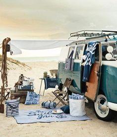 #beach #car