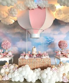 Pin By Zahra Nourani On Home Decor In 2019 Welcome Baby Party - Baby Products Deco Baby Shower, Baby Girl Shower Themes, Baby Shower Balloons, Baby Shower Gender Reveal, Shower Party, Baby Shower Parties, Shower Games, Baby Showers, Balloon Birthday Themes