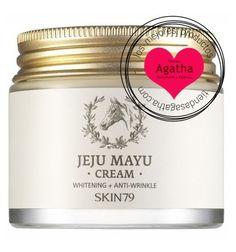 Skin79 Jeju Mayu Crema 100 gr. Crema hidratante con un complejo hidratante, nutritivo con un poder antimanchas y antiarrugas. Especial para las pieles más secas y sensibles. Proporciona una hidratación profunda aún absorbiéndose rápidamente y dejando una sensación suave en la piel.