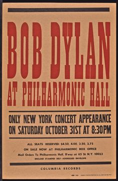 BOB-DYLAN-2-PHILHARMONIC 1964