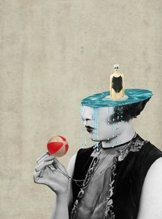 Julia Geiser (Switzerland)Julia Geiser's collage aesthetic follows the well worn path of many collag...