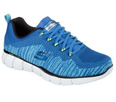 Superb comfort and magnetic style wins the day in the SKECHERS Equalizer - Perfect  Game shoe. Unique flat knit fabric upper in a lace up athletic sporty ... 95f56283226