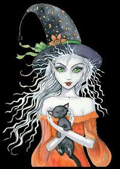 ilustraciones brujas - Buscar con Google