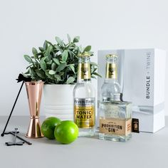 Um...anyone for G+T? Everything required for the perfect Gin and Tonic. Gift wrapped and delivered for free!