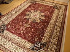 Luxury Red High Dense Silk Rugs Traditional Red Large Area Rugs 8x12 Living Rooms Rug 8x11 Dining Room Burgundy Area Rugs High End Kashan Persian Rug Pattern (Large 8'x12') AS Quality Rugs http://www.amazon.com/dp/B015VU710K/ref=cm_sw_r_pi_dp_SWl3wb1NJZFZJ