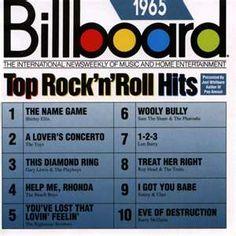 Top songs in 1965