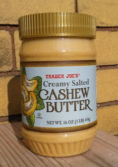 Read our review of Trader Joe's Creamy Salted Cashew Butter!