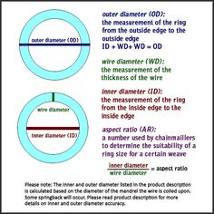 Image result for wire gauge chart awg swg decimal inch mm 18 ga 11mm id sterling silver jump rings wire gauge 18 awg wire diameter 1024mm inner ring diameter mandrel diameter 110 mm metal solid sterling keyboard keysfo Images