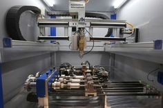 As shown here, RubyLaser FLW systems can be equipped with single and multiple rotary axes and spindles.