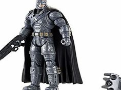 DC Comics DJH18 Armoured Batman Figure Celebrate the new BATMAN v SUPERMAN DAWN OF JUSTICE movie and The Greatest Superhero Battle of All Time with this 6 figure of a key character featuring 20 points of artic (Barcode EAN = 0887961224917) http://www.comparestoreprices.co.uk/december-2016-week-1-b/dc-comics-djh18-armoured-batman-figure.asp