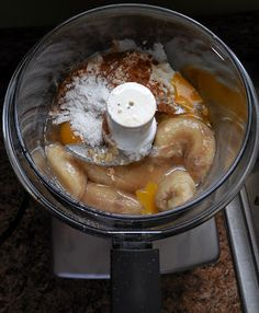 The Nutritionist Reviews: Banana Protein Pancakes with Magimix Food Processor
