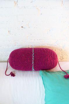 Pillow Crochet Marrakech por lacasadecoto en Etsy, €24.00