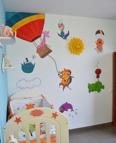 Uma's mural by Belén Isasi, via Behance
