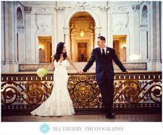 san francisco city hall wedding photographer blueberry photography
