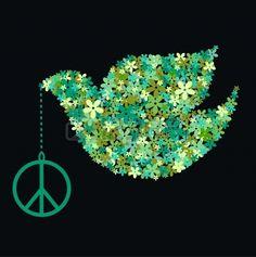 peace dove. Stock Photo - 8858012