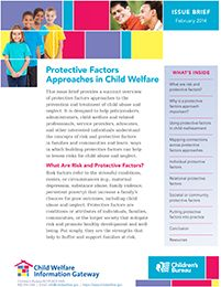 Protective Factors Approaches in Child Welfare US Dept of Health and Human Services Brief