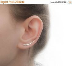 Mothers Day Sale  Ear Climber Earrings  Long Ear by JewelsByMoonli