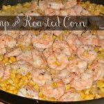 This shrimp & oven roasted corn dish is fast, easy and scrumptious. You can roast the corn days ahead and store the kernels in the fridge. The shrimp cooks up quickly and the addition of oven roasted corn makes for a most gourmet meal! Corn Dishes, Shrimp Dishes, Shrimp Recipes, Fish Recipes, Supper Recipes, Fish Dishes, Mexican Dishes, Potato Recipes, Beef Recipes