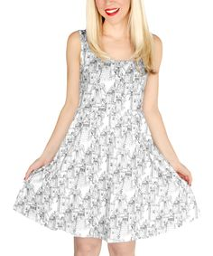 Doctor Who Bad Guys A-Line Dress
