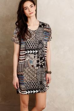 Love Sam Mosaic Tunic Dress