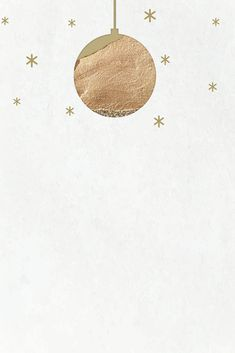 New Year gold ball with shimmering star lights vector | free image by rawpixel.com / marinemynt New Year Wallpaper, Holiday Wallpaper, Mobile Wallpaper, Paper Background, Background Patterns, Vector Background, New Year Images, Christmas Photos, Christmas Icons