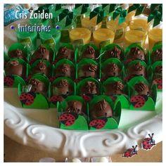 Joaninhas e doces para 1 aninho do Eduardo  By Cristina Zaiden Interiores