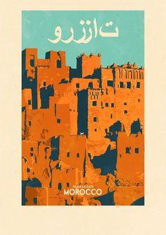 Groeten uit... Ouarzazate, Morocco