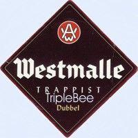 Label van Westmalle Dubbel