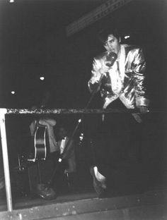 Elvis performed at the Olympia Stadium, Detroit, Michigan 3-31-57